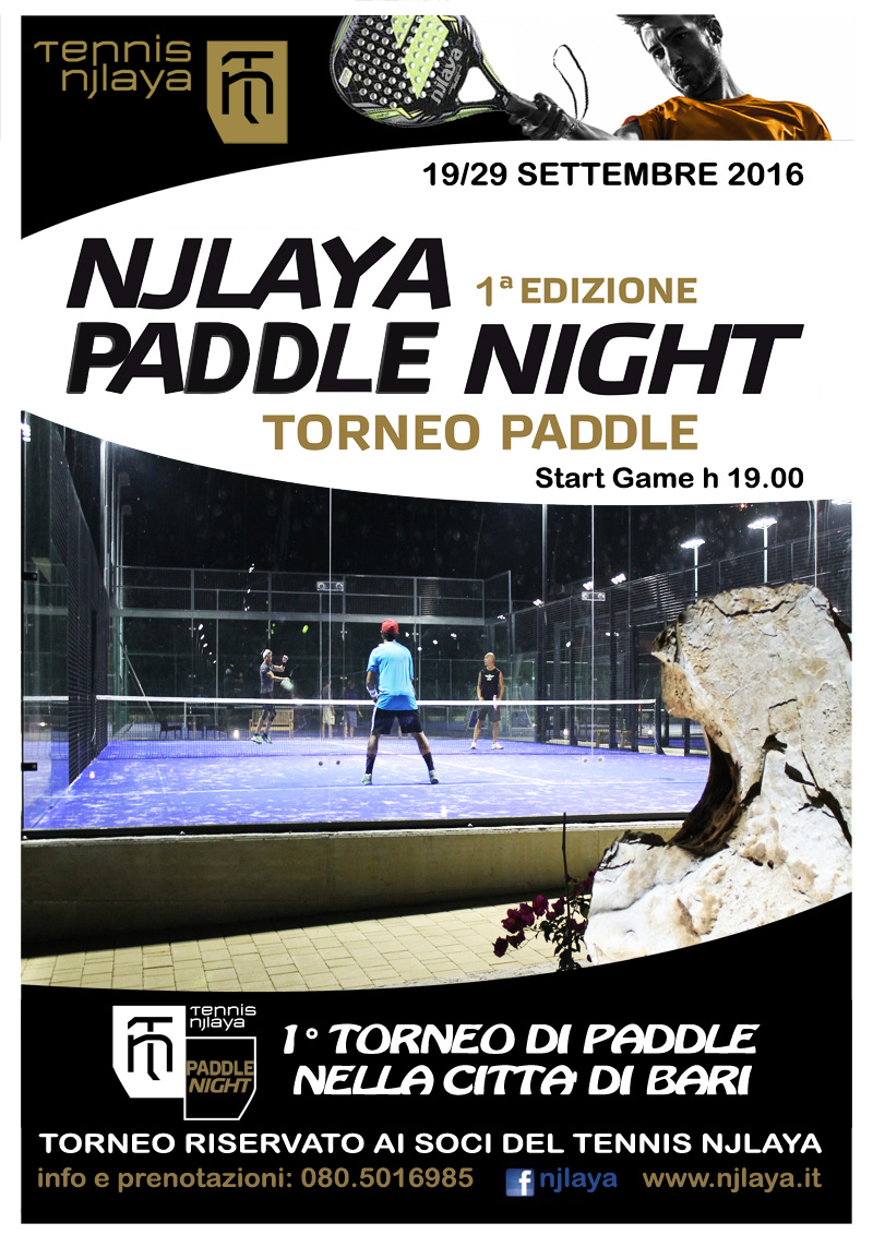 TORNEO GOLD PADDLE 7